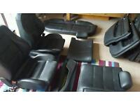Audi a4 / s4 b5 leather interior front back ,door cards with brackets