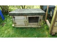 Rabbit hutch guinea pig