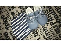 Baby boys hat & shoes