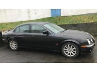 CHEAP TOP OF THE RANGE JAGUAR S TYPE 4.0L V8 (2001) year mot , come with private plate UFC