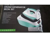 BRAND NEW/BOXED Steam Generator Iron Set