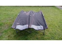 Outwell double folding camping bed