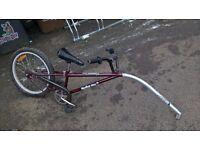 'Spokey Joe' Tag-along trailer bike