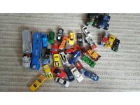 Cars, monster trucks