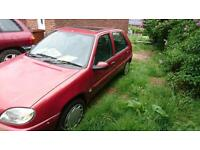 citroen saxi 1.1 mot dec