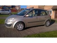2007 RENAULT SCENIC 1.6 EXPRESSION,FACELIFT MODEL,6 SPEED, 5 DOOR MPV, NEW MOT, LOW MILES, S/HISTORY