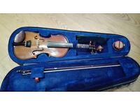 Stentor 1/2 size violin. Good condition. Pick up only from Wokingham, Berkshire.