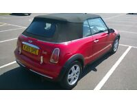 2005 Mini One Convertible spares or repair (roof fault)