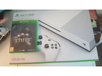 hi i have for sale littrally a brand new xbox one s 500 gig and thief game