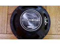 "sound city 10"" 50 watt 8ohm speaker"