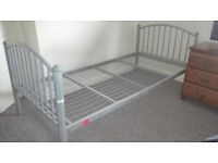 3ft SINGLE BED + 4ft DOUBLE BED WITH MATRESS