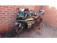 YAMAHA R125 CUSTOM, HPI CLEAR, AMAZING CONDITION, DELIVERY AVAILABLE