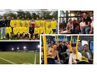 Sociable football team needs players!