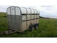 Nugent sheep cattle livestock trailer