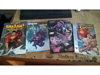Batman, Superman and Shazam Graphic novels