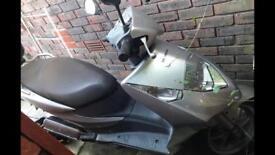 Honda Dylan ses 125 4 stroke 56 plate