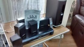 panasonci dvd home theater sound system model no sc-pt460
