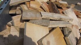 Bags Dry Firewood £1 Offcuts Mostly Fire Size So No Cutting Or Load Your Trailer