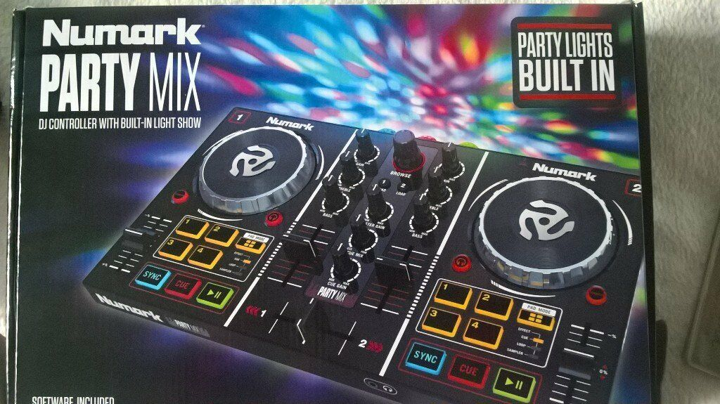NUMARK PARTY MIX DECKS