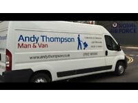 Man and Van for Long Distance Removals from Edinburgh and Glasgow to London and the South of England