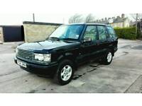 2001 RANGE ROVER P38 4.0 AUTO BLACK ONLY 1 OWNER F.C.S.H MOT NOV 18 VERY LOW MILES SUPERB 4X4