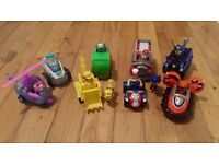 Paw Patrol vehicles and characters brand new