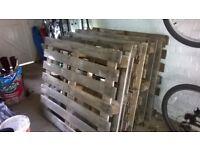 5 Wooden Pallets (100cm x 120cm)