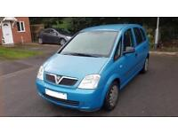 Vauxhall Meriva 1.6 excellent condition low miles