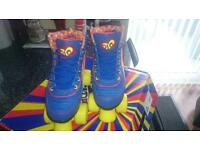 Retro roller skates size 4