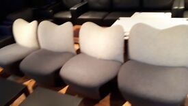 Brand New Armless Reception Chairs