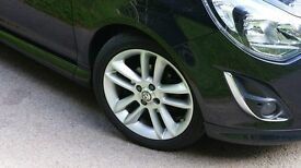 Vauxhall corsa 1.4sri carbon black