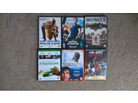 6 DVDs for sale