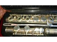 Yamaha flute 281 silver plated edition