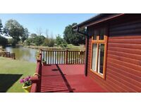 Fishing lake lodge for sale at Yaxham Waters Norfolk beautiful tranquil area at Yaxham Waters