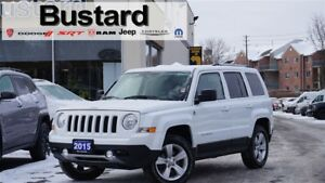 2015 Jeep Patriot LIMITED | NAV | LEATHER | TINTED GLASS