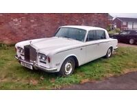 1971 ROLLS ROYCE SHADOW 1 / Saloon 4 dr 6.8 - Low Mileage 28k – New MOT TAX FREE / WEDDING CAR