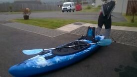 Brand New Unused Kayak and Wet Suit