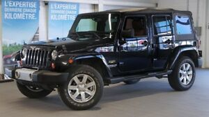 2013 Jeep WRANGLER UNLIMITED 4 DR SAHARA