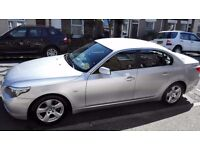 2008 Silver BMW 520D SE Diesel Auto Very Good Condition