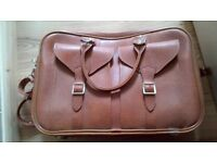 AS NEW RETRO HAND LUGGAGE/ SUITCASE/ LAPTOP CASE