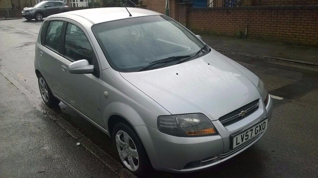 2007 chevy aveo airbag light