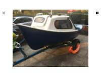 Maxcraft 12ft 13ft fishing boat with mercury outboard motor