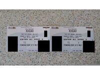 Nickelback Tickets - Belfast 10/10