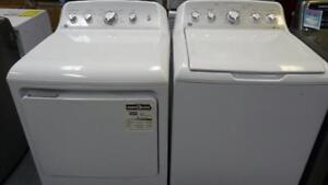 24- NEUF - NEW  Laveuse Sécheuse GE Haute Efficacite HE  Washer Dryer