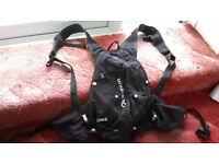 Quechua Decathlon 12 litre rucksack (v. lightweight)