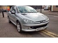 2005 55 reg peugeot 206 sport 1.6cc engine service history excellent car to drive