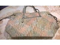 New Unused Carl Scarpa Leather bag