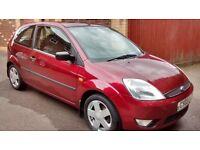 Fiesta 1.4 Zetec tdci fsh+cambelt £30 a year road tax,62mpg