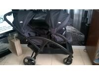 LOVELY CLEAN JOIE DOUBLE LIGHTWEIGHT PUSHCHAIR