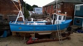 Versatility 31 foot fishing boat for sale.